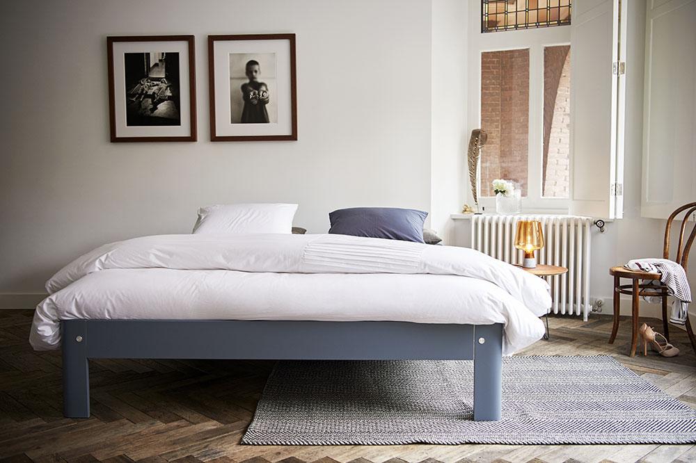 Auronde: Descubra a cama clássica da marca Auping