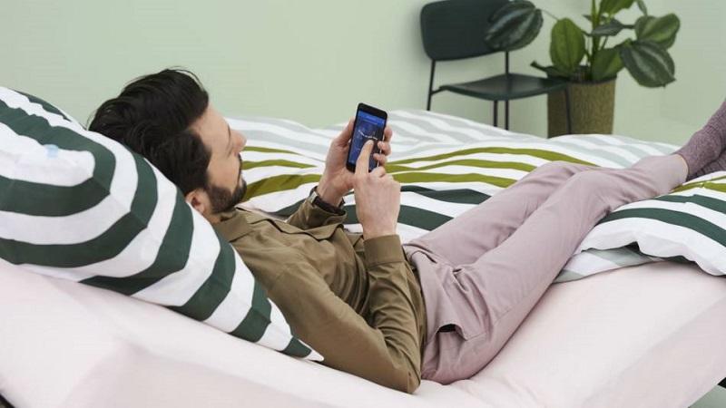 estrado para camas de casal articulado