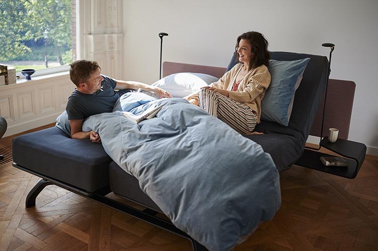 Cama de casal inteligente - Conheça a alta-tecnologia das camas Auping